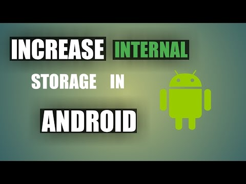 How To Increase Internal Storage Space In Android Devices||Without Losing Data||