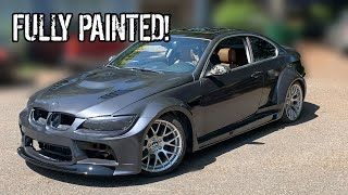 We Painted Kyles E92 BMW And It Looks AMAZING!!