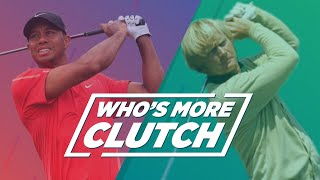 Who's More Clutch: Tiger Woods Or Jack Nicklaus?