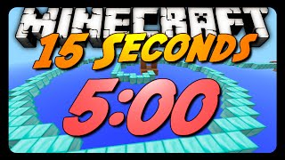 "Minecraft Parkour Speedrun | ""15 Seconds"" 