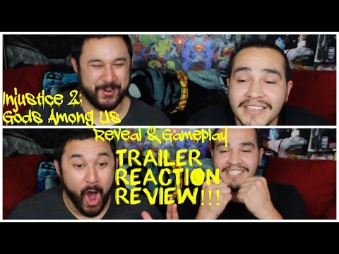 Injustice 2: Official Reveal Announcement & Gameplay Reveal Trailer REACTION & REVIEW!!!