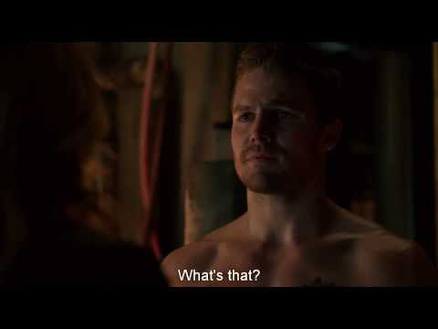 Arrow S02E13 (end scene)