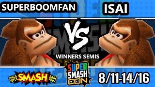 SSC 2016 Smash 64 - SuPeRbOoMfAn (Falcon, DK, Yoshi) Vs. Isai (Pikachu, DK, Link, Mario) - SSB64 WS