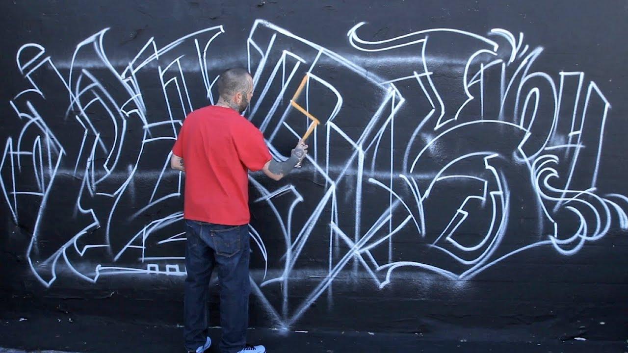 3 tips on sketching a mural graffiti art