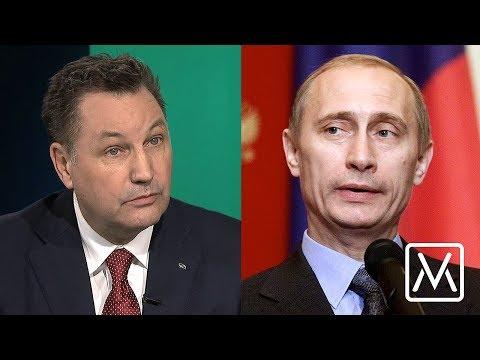 """Rysslands mäktigaste svensk: """"Mitt liv med Putin"""""""
