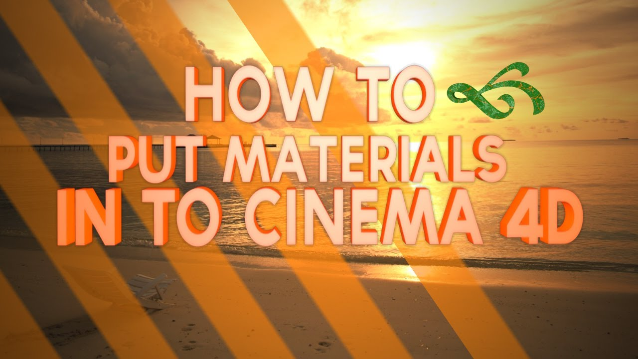 how to add material in cinema 4d