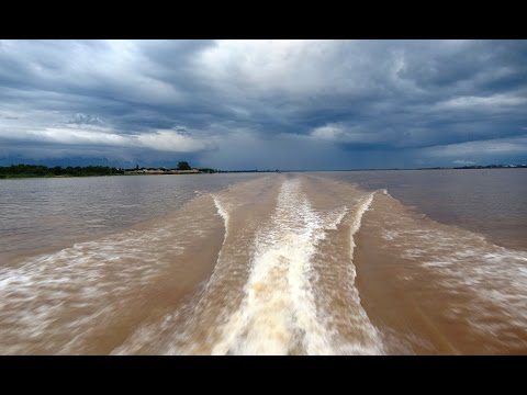 Cruise the Mighty Mekong River from its Delta in Vietnam to Phnom Penh, Cambodia – 4K