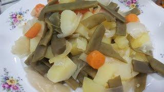 Hervido de verduras en olla GM G