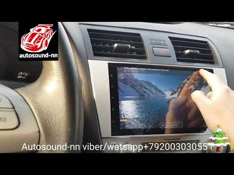 "Штатная Магнитола Crd Toyota Camry V40 9""(8 ядер 2/32)android 8.1"