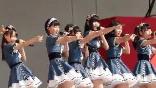 """AKB48 Team 8 """"47 no Sutekina Machi he"""" @ Fukuyama Bara Matsuri AKB4..."""