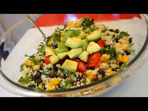 Best Southwestern Quinoa Salad Recipe