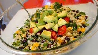 Best Southwestern Quinoa Salad Recipe