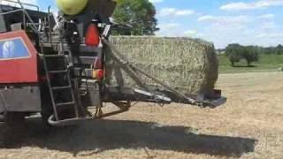 case ih mx210 baling w new holland bb940a