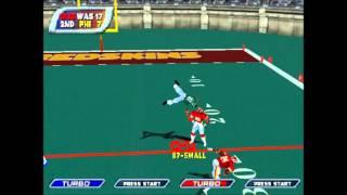 NFL BLITZ 2001 Redskins vs Eagles