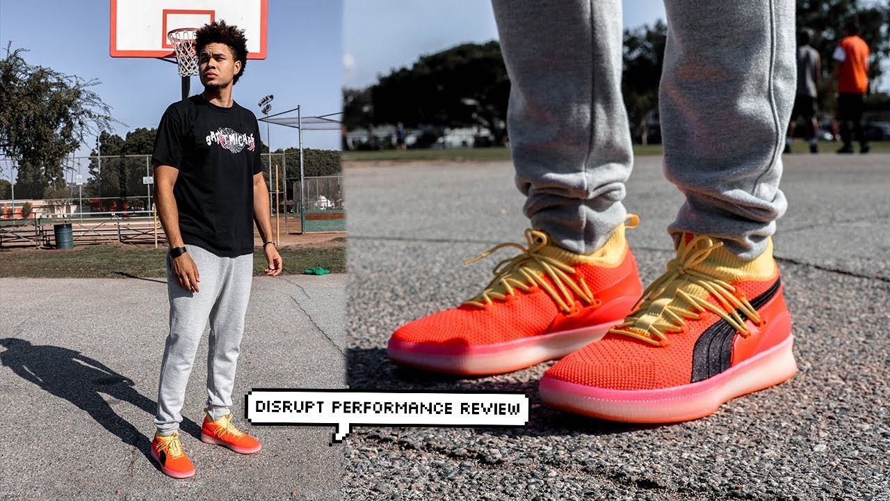 detailed look 5f9d1 77522 Puma Clyde Court Disrupt Performance Test/Review