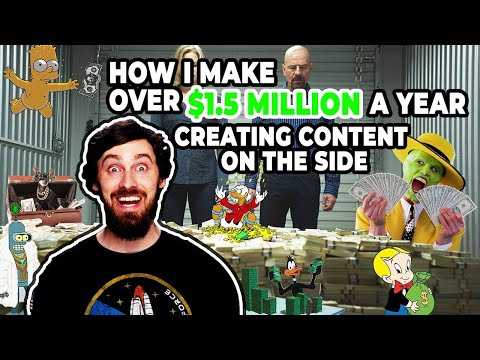How I Make Over $1.5-Million Every Year Creating Content on the Side