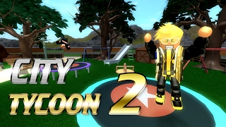 [as a block (Roblox)] made our city! The more variety, the city Tycoon 2 (City Tycoon 2) simple review & play video