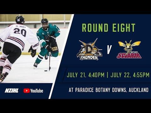 NZIHL 2018   Round 8 Game 32: Dunedin Thunder v Botany Swarm - July 22