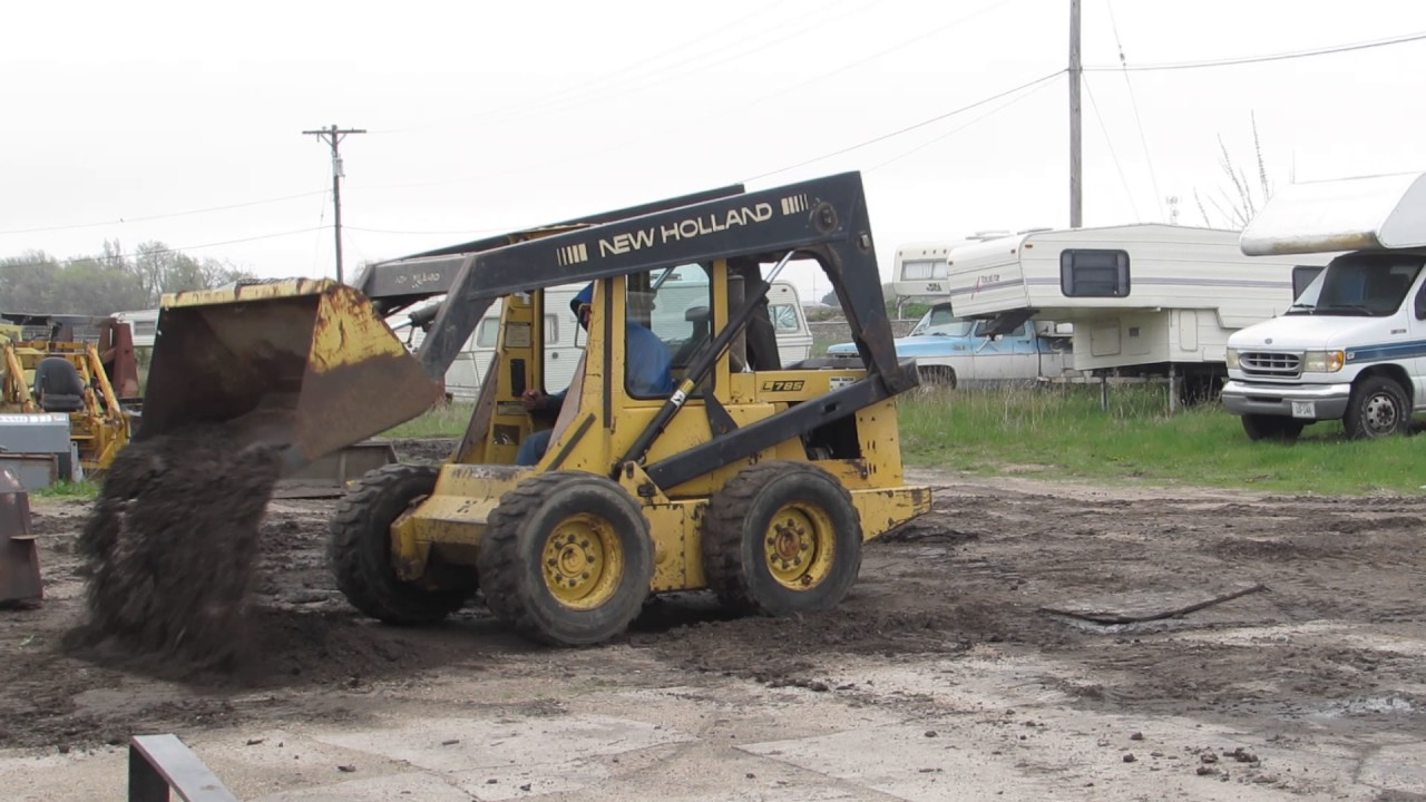 New    Holland       775       Skid       steer     YouTube