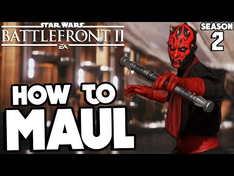 Star Wars Battlefront 2: How to Not Suck - Darth Maul UPDATED Hero Guide and Review thumbnail