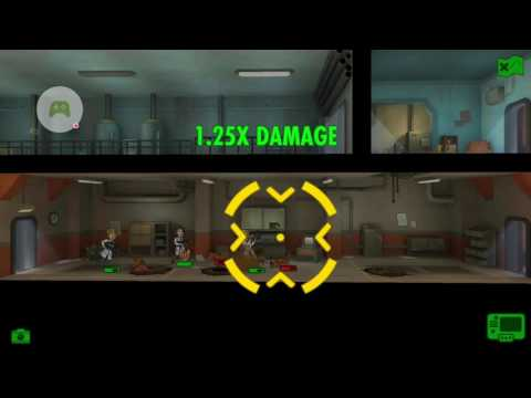 Fallout Shelter - Quest: Aim For The Head - Kill The Glowing One