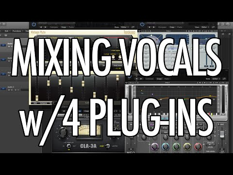 Mixing Vocals with Only FOUR Plug-ins!!!
