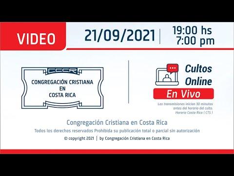 Santo Culto a Dios 21/09/2021 - 19:00Hs/7:00pm.