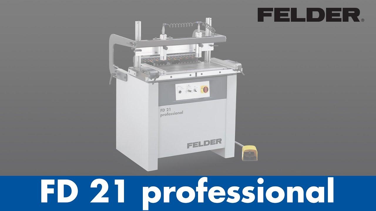 Dowel boring machine FD 21 Professional – FELDER