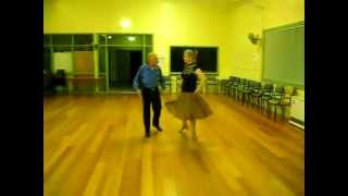Helena Quickstep Sequence Dance Demonstration