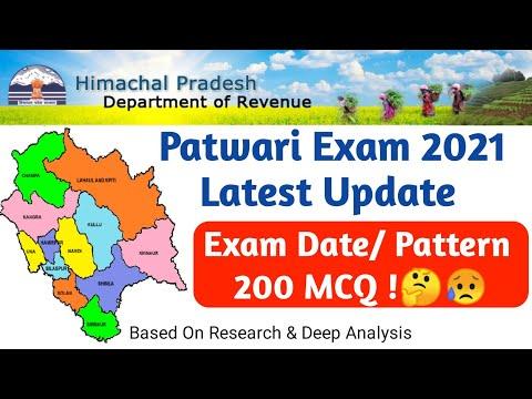 HP Patwari Recruitment 2021 || Hp Patwari Bharti 2021|| New Pattern, Exam Date ||Revenue Department