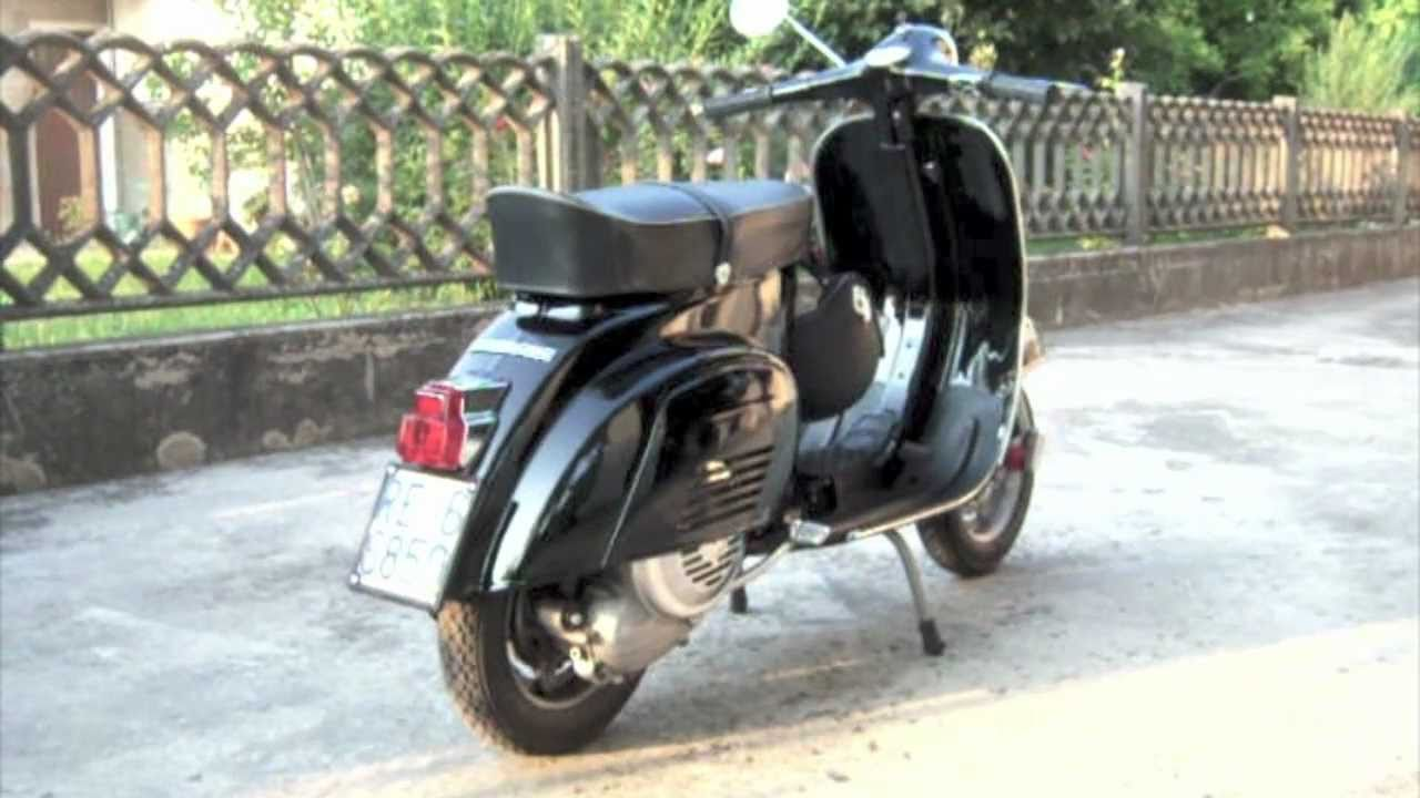 vespa 125 primavera 1975 ultime modifiche youtube. Black Bedroom Furniture Sets. Home Design Ideas