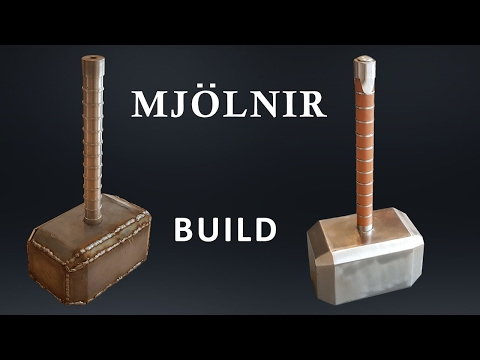 CRAZY SOLID Metal 91 lb Thor's Hammer Build