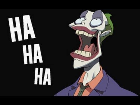 the joker laughing youtube