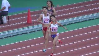 日本陸上競技選手権2016 女子400mH決勝