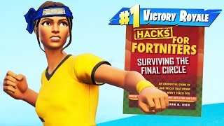 Using Terrible FORTNITE GUIDES To Win Games