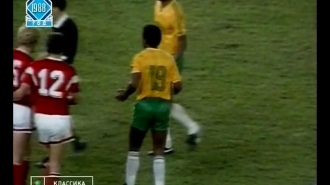 олимпиада 1988 футбол финал Тюмени