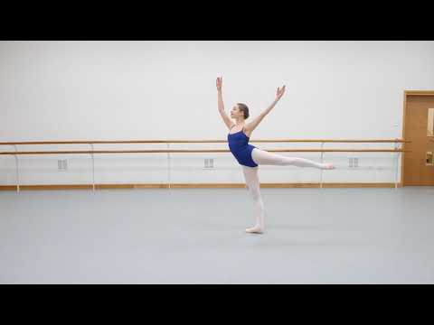 Mimi Swinton Fiennes - English National Ballet Audition 2018