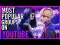 top 30 most popular kpop groups on youtube