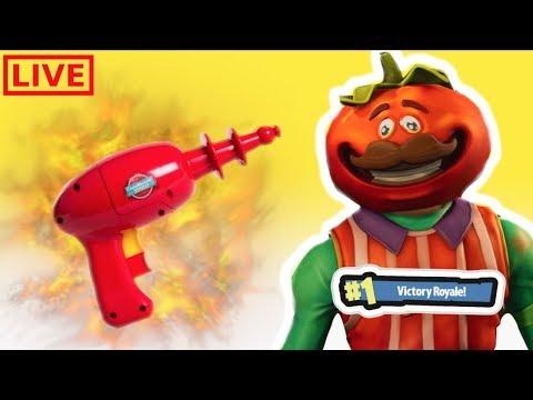 FORTNITE TOMATO TOWN SAVAGES! (Fortnite Live Stream PS4 PRO)