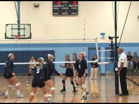 10-6-2012 High School Volleyball @ Scott City, Kansas