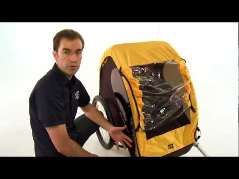 Burley Bee Child Trailer Review from Performance Bicycle