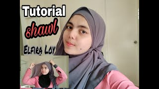 Download Tutorial Shawl Elfira Loy Video Sosoclip Com