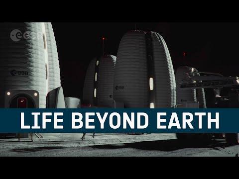 Life Beyond Earth: Venice Biennale lunar habitat