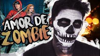 AMOR DE ZOMBIE RAP | Z4E MI LIBRO| KRONNO ZOMBER | ( Videocl...