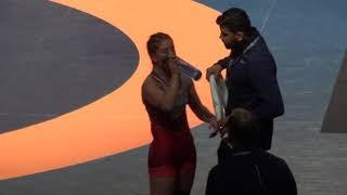 2019 Canadian Trials WW53kg Jade Parsons (Brock)k vs Amber Weibe (BMWC)