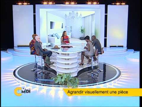 agrandir visuellement une pi ce c 39 midi du 24 f vrier 2015 avec jessica bamba youtube. Black Bedroom Furniture Sets. Home Design Ideas