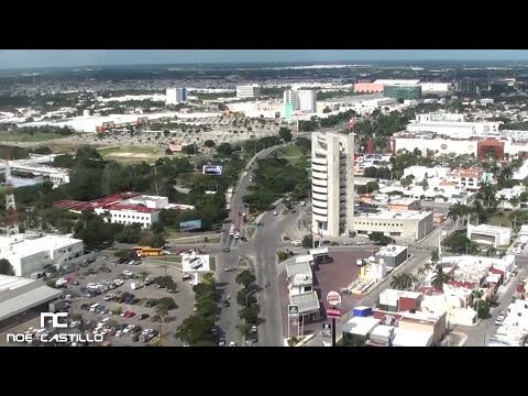 Vista Aérea de Mérida Yucatán