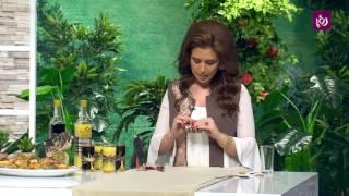 تزيين كاسات العصير في رمضان - حرف يدوية