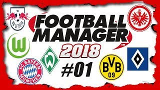 ⚽ Football Manager 2018 Multi - Endlich geht es los (PC/Deutsch/Stream) //GoddyLP