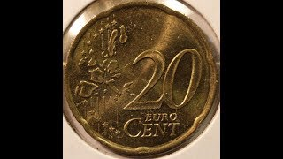 20 EURO Cents coin collection